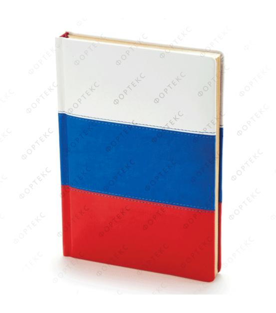 Ежедневник А5 «Russian Flag»