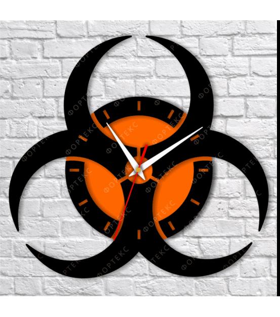"""Часы настенные (""""Радиация"""") d400 мм"""
