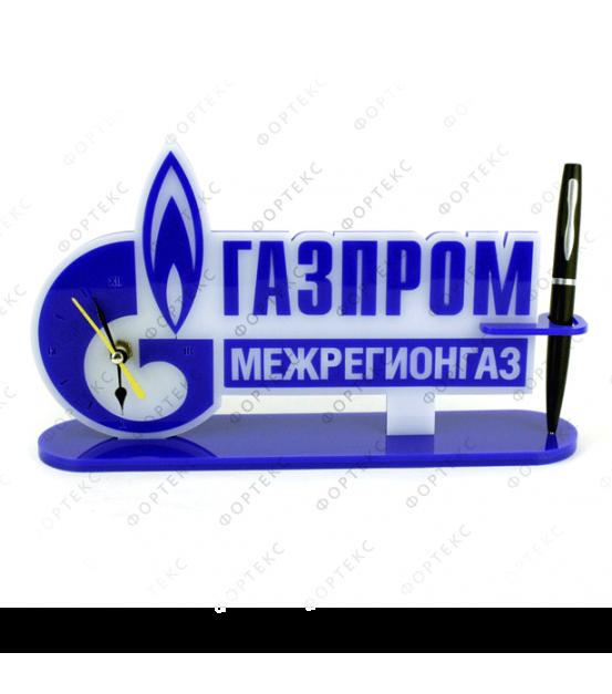 """Часы настольные (""""Газпром"""")"""