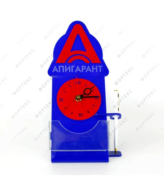 """Часы настольные (""""Апигарант"""") вертикальные"""