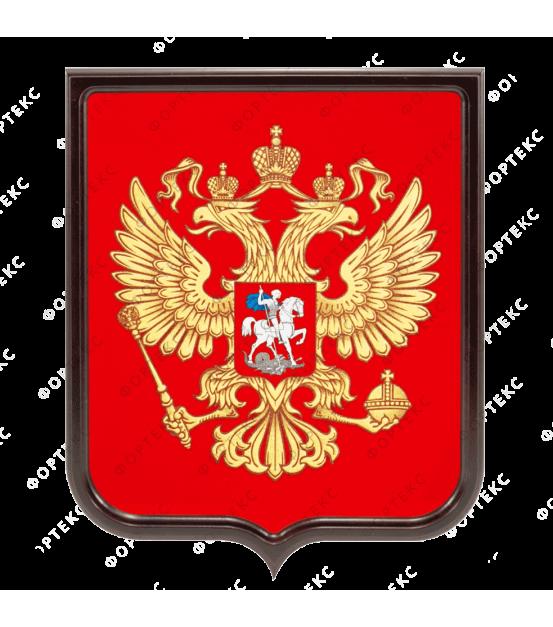 Герб Российской Федерации (шелкография)