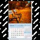 Календарь квартальный одноблочный