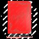 Папка БАЛАДЕК одноцветный (на бумажной основе)