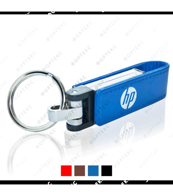 USB flash-карта брелок кожаный